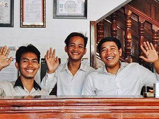 Bokre Angkor Hostel Team